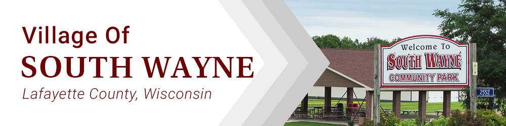 Fire Department | Village of South Wayne, Lafayette County